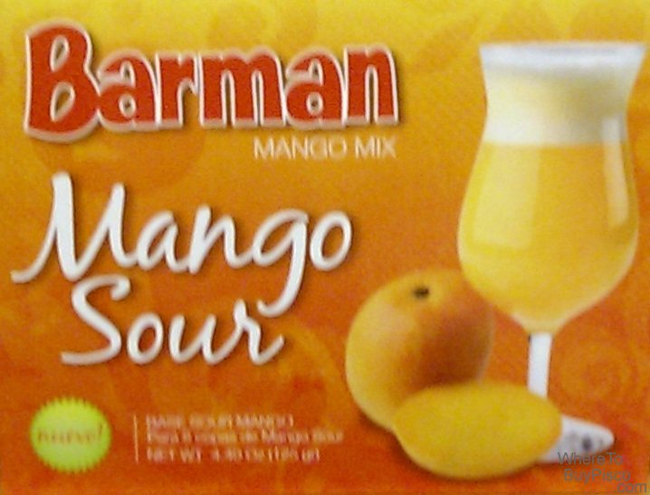 Barman Mango Sour Mix - Click Image to Close